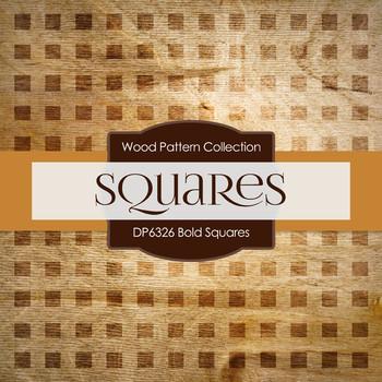 Digital Papers - Bold Squares (DP6326)