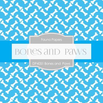 Digital Papers - Bones And Paws (DP4051)