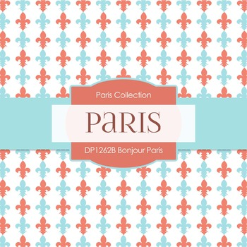 Digital Papers - Bonjour Paris (DP1262B)