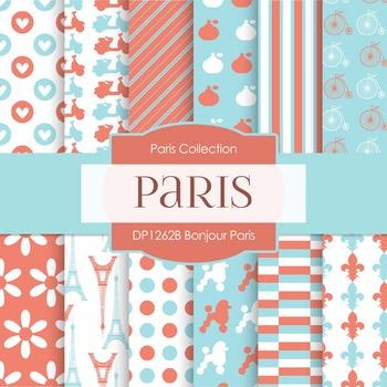 Digital Papers - Bonjour Paris (DP1262B)