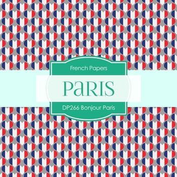 Digital Papers - Bonjour Paris (DP266)