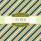 Digital Papers - Boy Toys (DP2118)