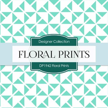 Digital Papers - Floral Prints (DP1942)
