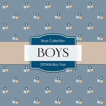 Digital Papers - Boy Toys (DP2456)