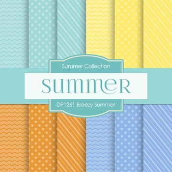 Digital Papers - Breezy Summer (DP1261)
