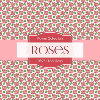 Digital Papers - Briar Rose (DP271)
