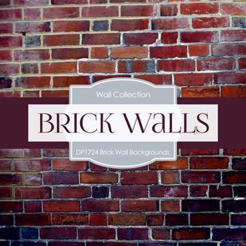 Digital Papers -  Brick Background (DP1724)