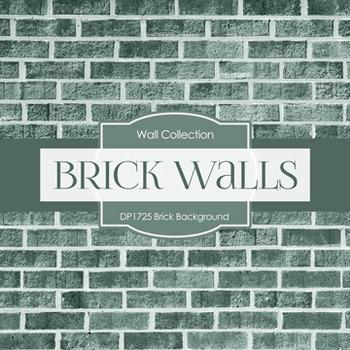 Digital Papers -  Brick Background (DP1725)