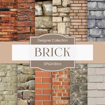 Digital Papers - Brick (DP624)