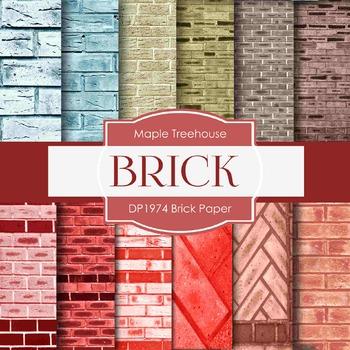 Digital Papers - Brick Paper (DP1974)