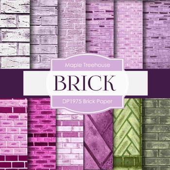Digital Papers - Brick Paper (DP1975)