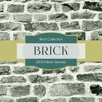 Digital Papers - Brick Textures (DP574)