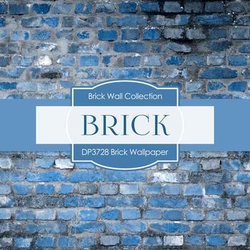 Digital Papers - Brick Wallpaper (DP3728)
