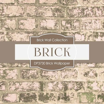 Digital Papers - Brick Wallpaper (DP3730)