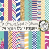 Digital Papers - Bright Colors Abby Lane Collection {Perso