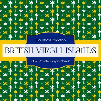 Digital Papers - British Virgin Islands (DP6153)
