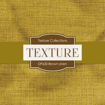 Digital Papers - Brown Linen (DP630)