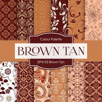 Digital Papers - Brown Tan (DP4155)