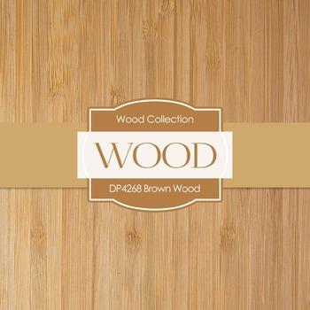 Digital Papers - Brown Wood (DP4268)