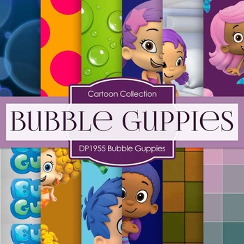 Digital Papers - Bubble Guppies (DP19155)