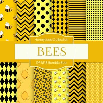Digital Papers - Bumble Bee (DP1518)