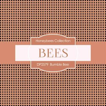 Digital Papers -  Bumble Bee (DP2579)