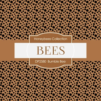 Digital Papers -  Bumble Bee (DP2580)