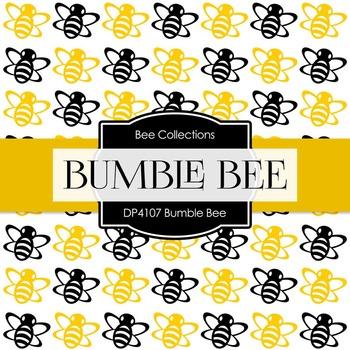 Digital Papers - Bumble Bee (DP4107)