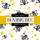 Digital Papers - Bumble Bee (DP4107)