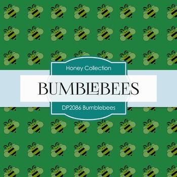 Digital Papers - Bumblebees (DP2086)