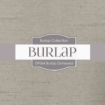Digital Papers - Burlap Distressed (DP064)