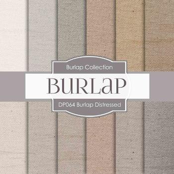 Digital Papers - Burlap Distressed (DP064)