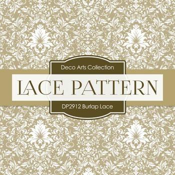 Digital Papers - Burlap Lace (DP2912)