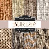 Digital Papers - Burlap Textures (DP061)