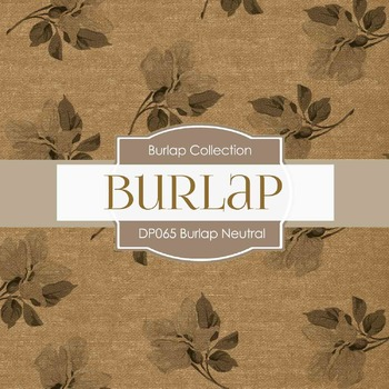 Digital Papers - Burlap Textures (DP065)