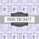 Digital Papers - Bus Ticket (DP6213)