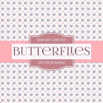 Digital Papers - Butterflies (DP1259)