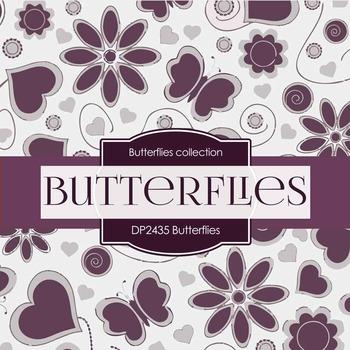 Digital Papers - Butterflies (DP2435)