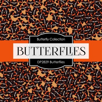 Digital Papers - Butterflies (DP2829)