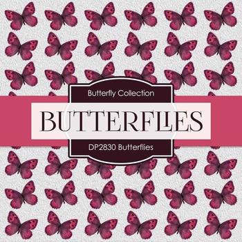 Digital Papers - Butterflies (DP2830)