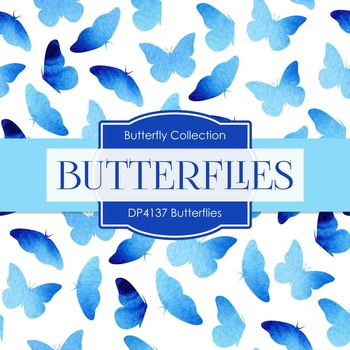 Digital Papers - Butterflies (DP4137)
