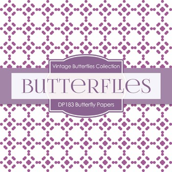 Digital Papers - Butterfly Papers (DP183)
