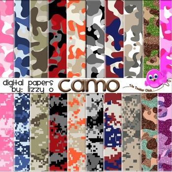 Digital Papers - Camo