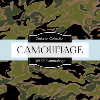 Digital Papers -  Camouflage (DP1671)