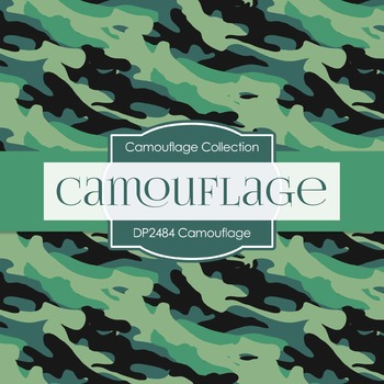 Digital Papers -  Camouflage (DP2484)