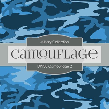 Digital Papers - Camouflage (DP785)