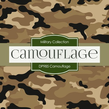 Digital Papers - Camouflage (DP985)