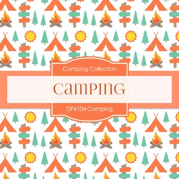Digital Papers - Camping (DP6104)