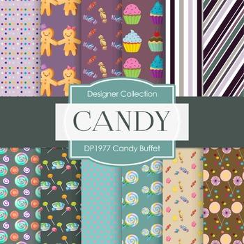 Digital Papers - Candy Buffet (DP1977)