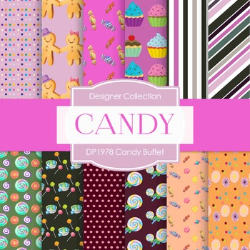 Digital Papers - Candy Buffet (DP1978)